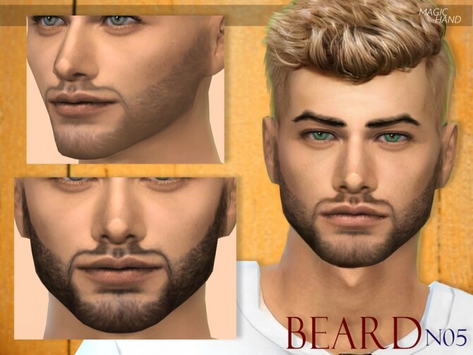 Sims 4 Beard N05 by MagicHand at TSR