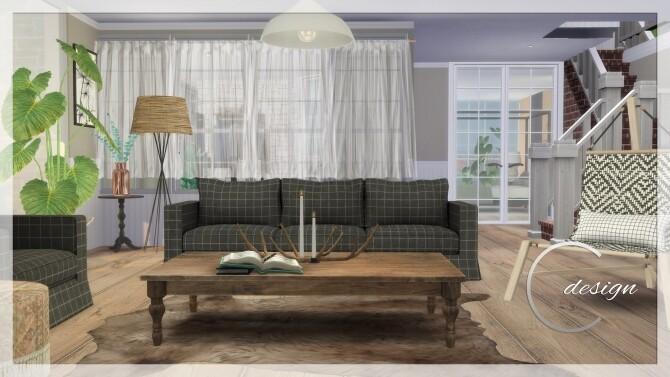 Sims 4 Scandi Dream Home at Cross Design