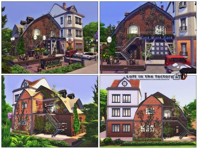 Loft in the factory by Danuta720 at TSR image 12811 670x503 Sims 4 Updates