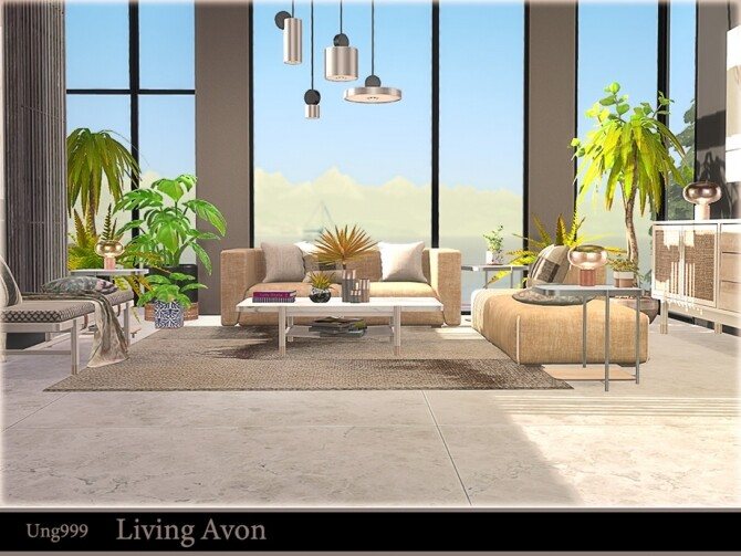 Living Avon by ung999 at TSR image 1282 670x503 Sims 4 Updates