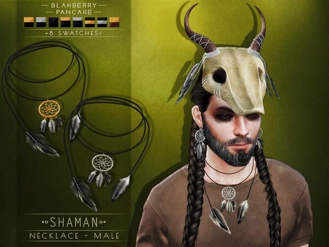 Sims 4 Shaman Set at Blahberry Pancake