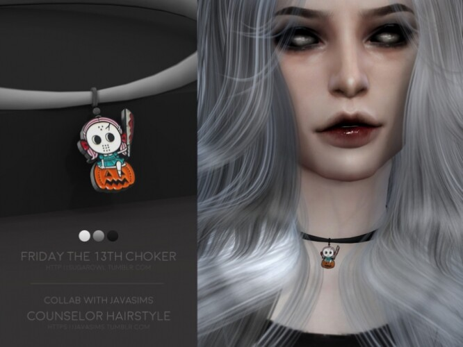 Friday The 13th choker by sugar owl