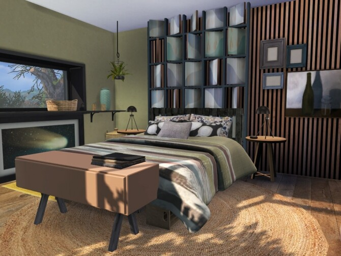 Autumn Kiss Master Bedroom by fredbrenny at TSR image 1298 670x503 Sims 4 Updates