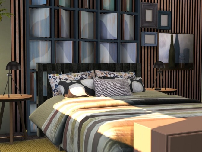 Autumn Kiss Master Bedroom by fredbrenny at TSR image 13010 670x503 Sims 4 Updates