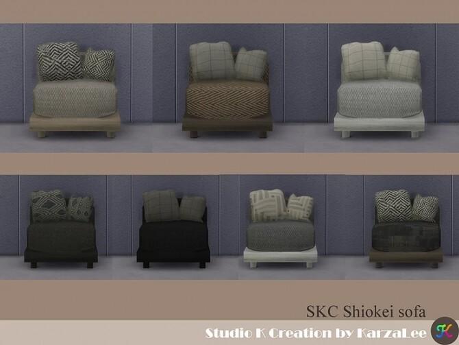 Sims 4 Shiokei sofa set at Studio K Creation