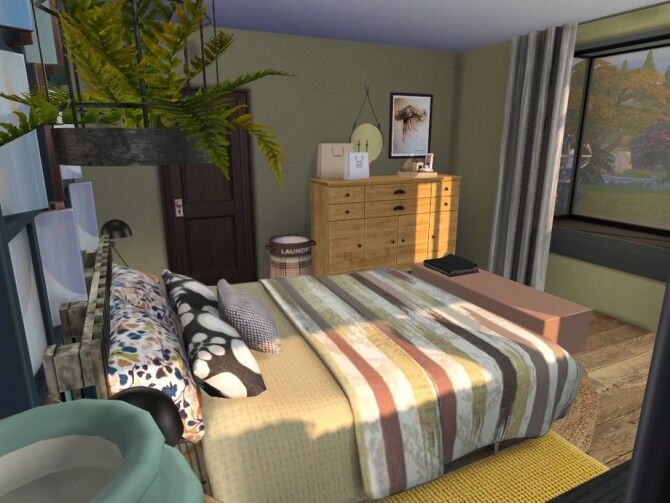 Autumn Kiss Master Bedroom by fredbrenny at TSR image 13113 670x503 Sims 4 Updates