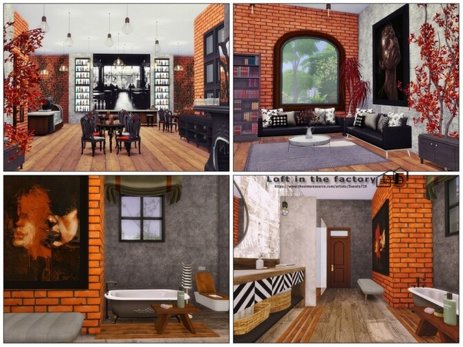 Loft in the factory by Danuta720 at TSR image 13115 670x503 Sims 4 Updates
