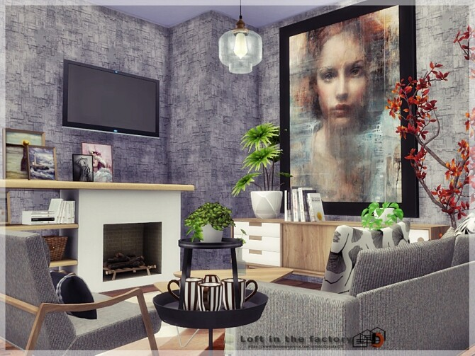 Loft in the factory by Danuta720 at TSR image 13214 670x503 Sims 4 Updates