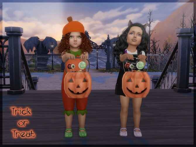 Trick or Treat! Pumpkin bucket and pose pack at Sims 4 Studio image 13216 670x503 Sims 4 Updates