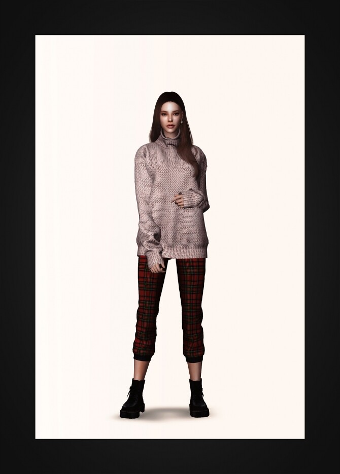 Oversized Turtleneck Sweater at Gorilla image 1325 670x935 Sims 4 Updates