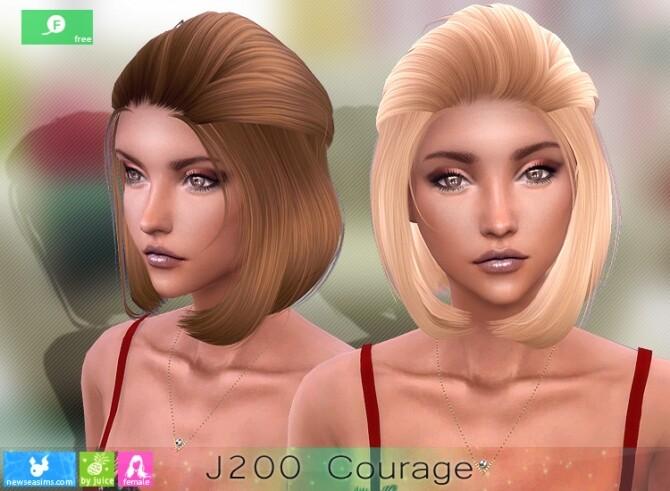 J200 Courage hair