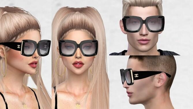 Designer glasses at Ruchell Sims image 1336 670x377 Sims 4 Updates