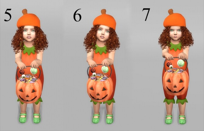 Trick or Treat! Pumpkin bucket and pose pack at Sims 4 Studio image 13413 670x431 Sims 4 Updates