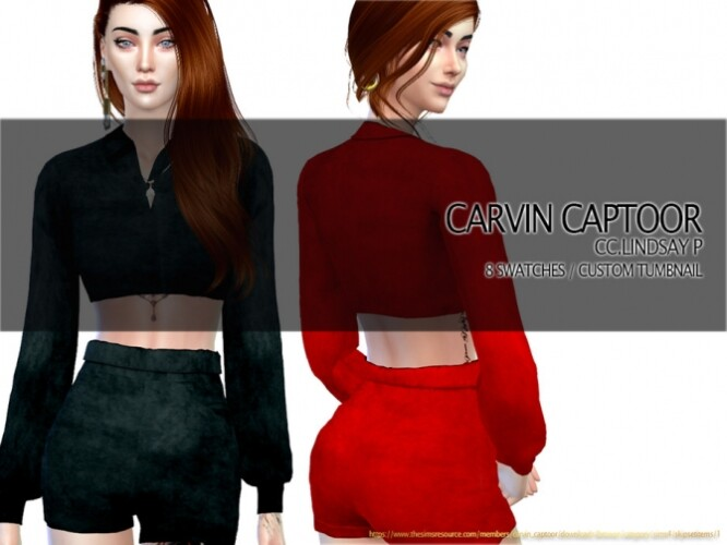 Lindsay P shorts by carvin captoor