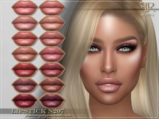 FRS Lipstick N207 by FashionRoyaltySims