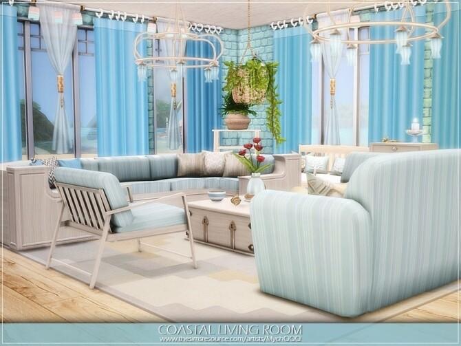 Coastal Living Room by MychQQQ