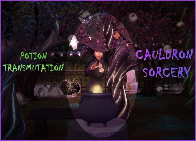 CAULDRON POTION TRANSMUTATION