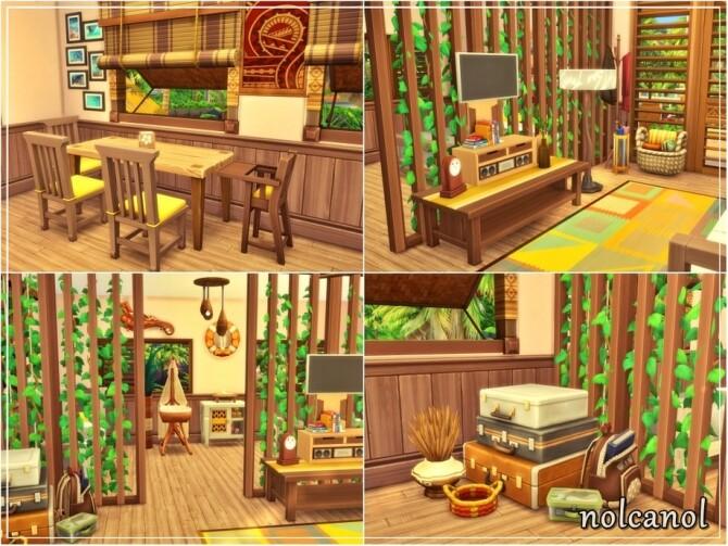 Sunny Thalia House by nolcanol at TSR image 1370 670x503 Sims 4 Updates