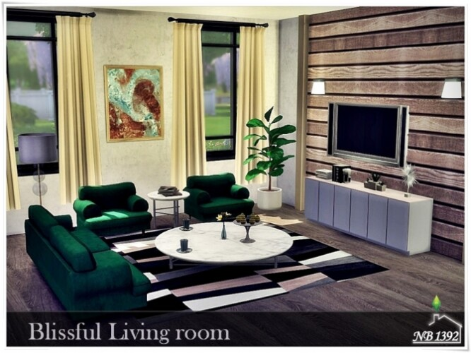 Blissful Living room by nobody1392