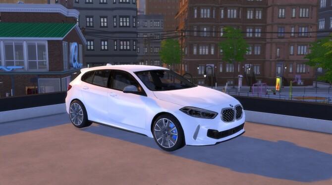 Sims 4 BMW 1 Series M Sport at LorySims