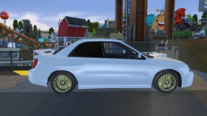 Sims 4 2005 Subaru Impreza at Modern Crafter CC