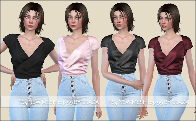 Sims 4 Top 99 at All by Glaza