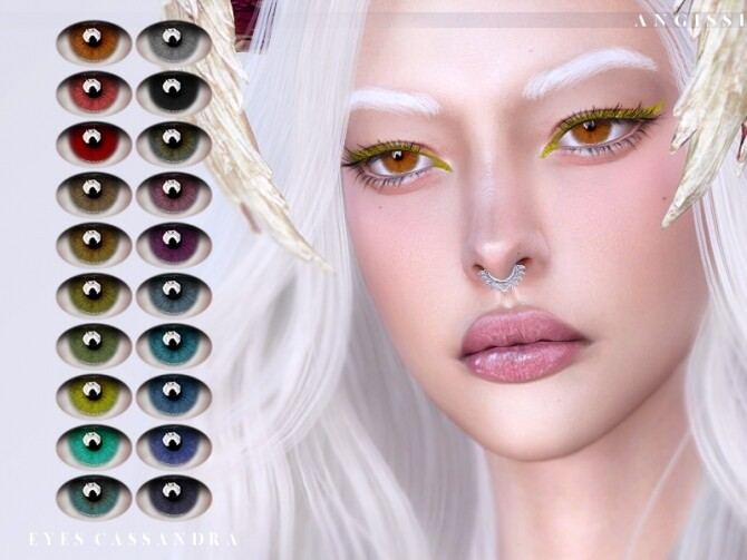 Cassandra eyes by ANGISSI at TSR image 1407 670x503 Sims 4 Updates