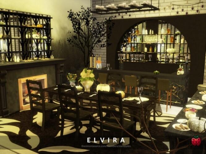 Elvira dining room by melapples