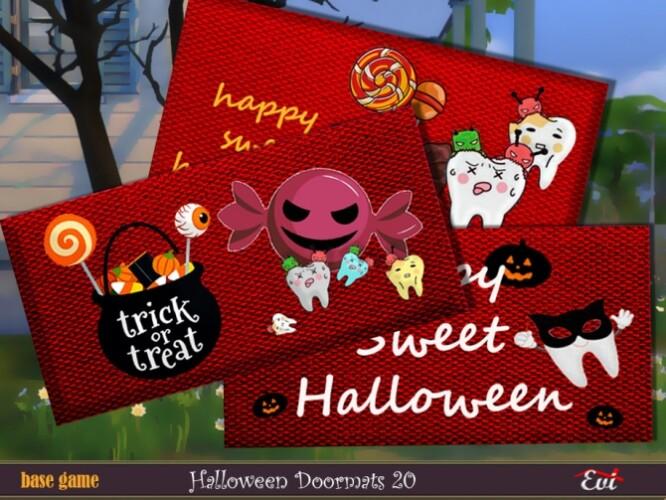 Halloween Door mats 20 by evi