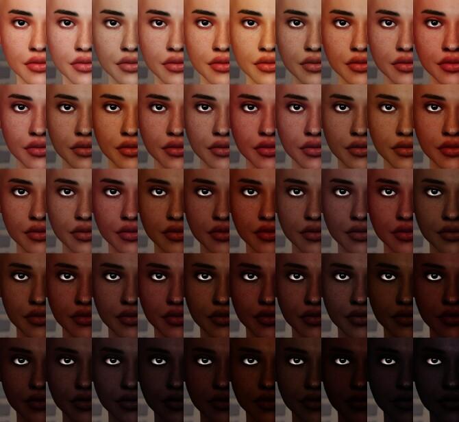 Sims 4 Honeydew skin at Praline Sims