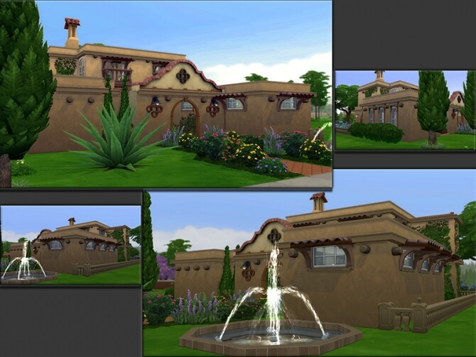 Sims 4 MB Villa Ambrosia by matomibotaki at TSR