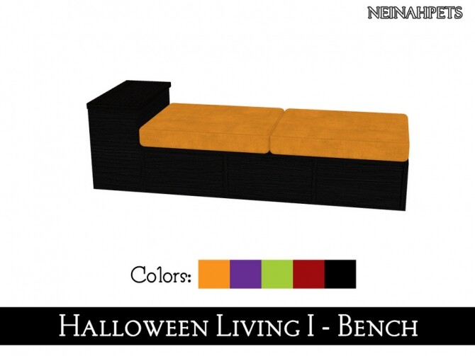 Halloween Living I by neinahpets at TSR image 1430 670x503 Sims 4 Updates