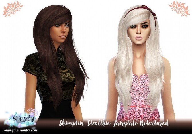 Stealthic Fairytale Hair Retexture