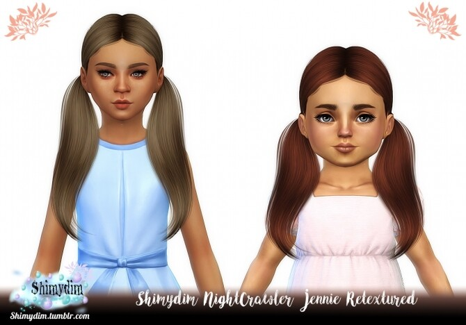 Child Toddler Hair retextures