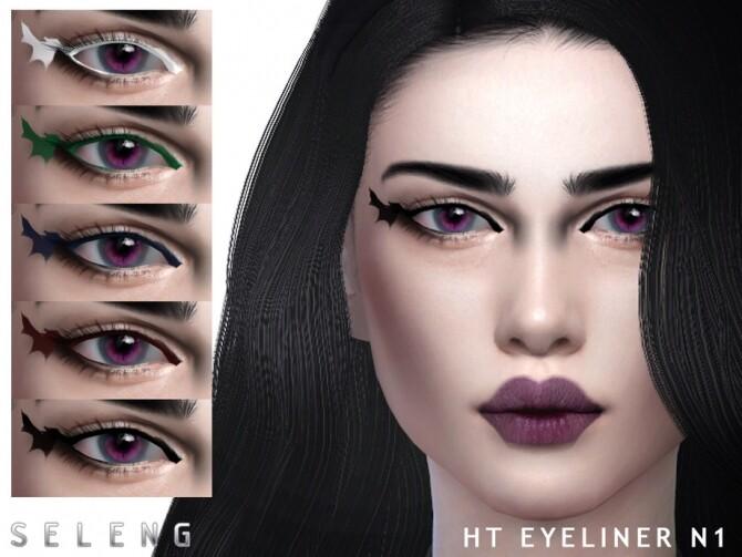 Sims 4 HT Eyeliner N1 by Seleng at TSR