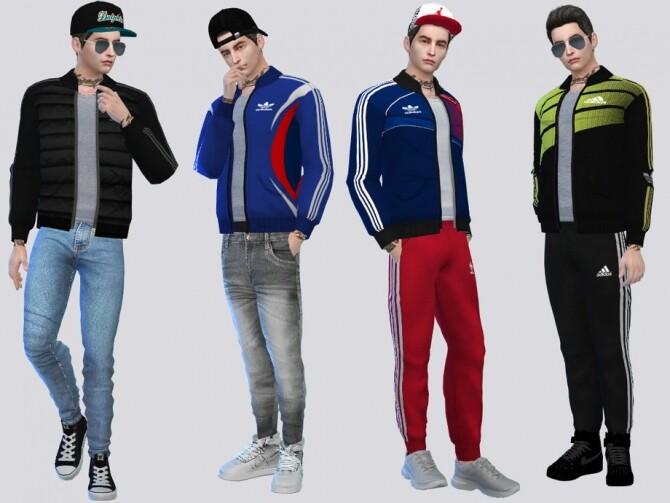 Sims 4 Bomber Jacket I by McLayneSims at TSR
