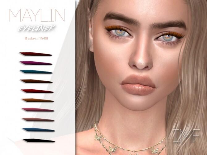Sims 4 IMF Maylin Eyeliner N.108 by IzzieMcFire at TSR