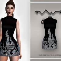 Flame Dress BD339 by busra-tr