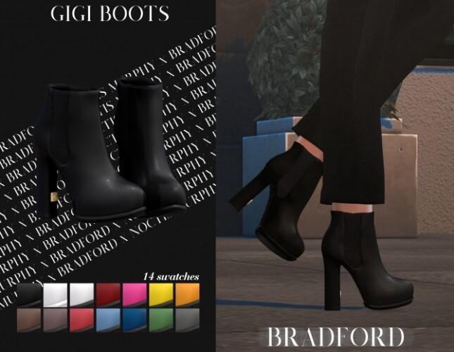 Gigi Boots by Silence Bradford