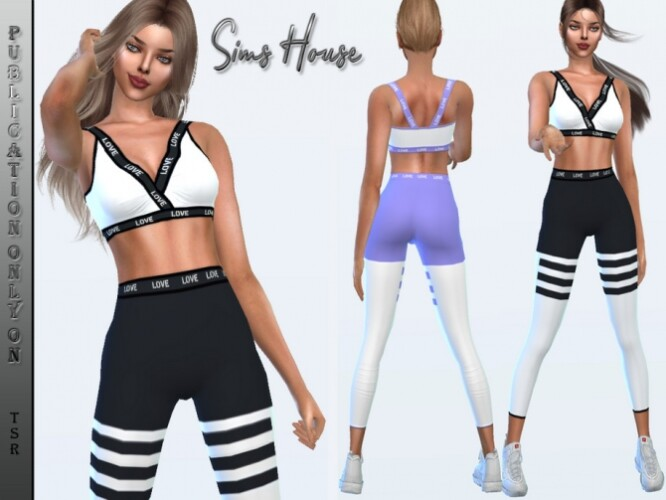 Yoga Suit Top by Sims House