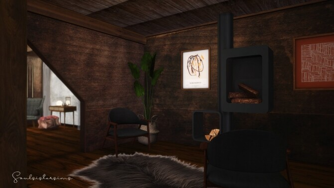 Sims 4 Mountain Retreat at SoulSisterSims
