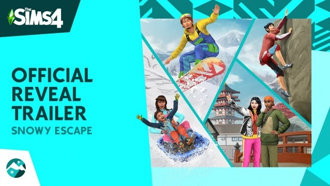 Sims 4 The Sims™ 4 Snowy Escape Expansion Pack on November 13!