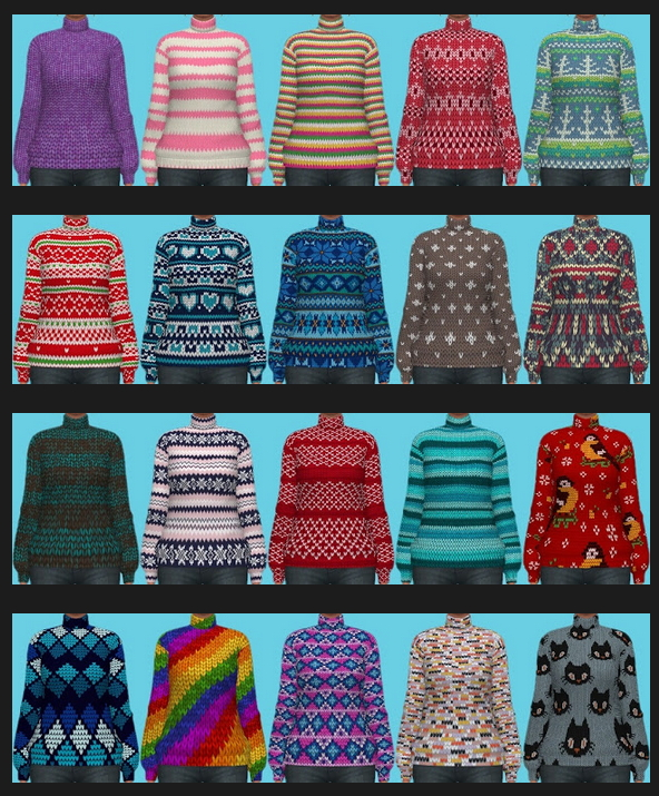Sims 4 Autumn Collection 2020 Part 1 at Annett's Sims 4 Welt