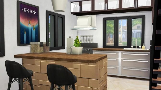 Sims 4 LUXURY NERDY LOFT at Aveline Sims