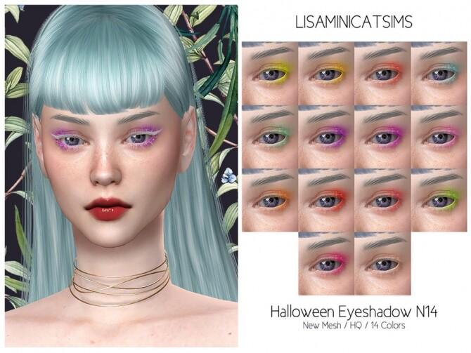 Halloween Eyeshadow N14 HQ by Lisaminicatsims at TSR image 1508 670x503 Sims 4 Updates