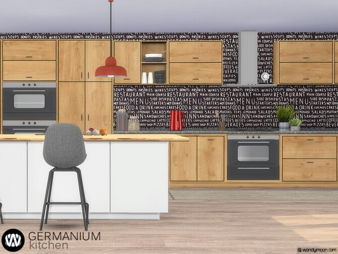 Germanium Kitchen Part II by wondymoon at TSR image 15112 670x503 Sims 4 Updates