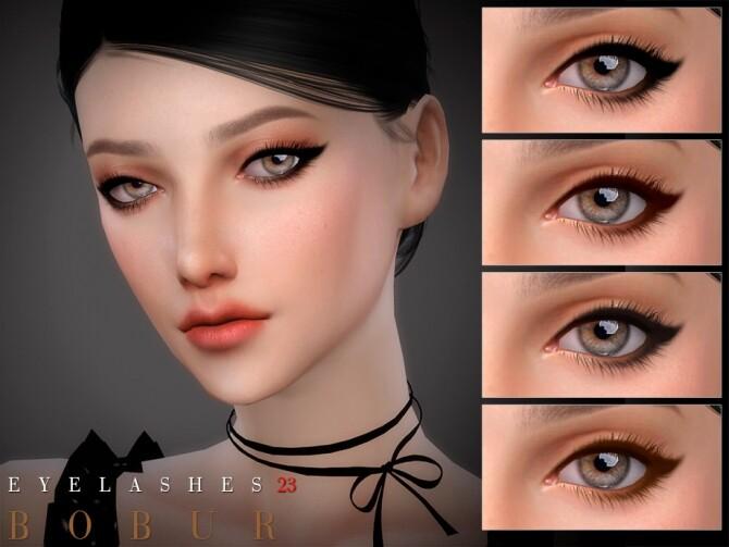 Eyelashes 23 by Bobur3 at TSR image 15115 670x503 Sims 4 Updates