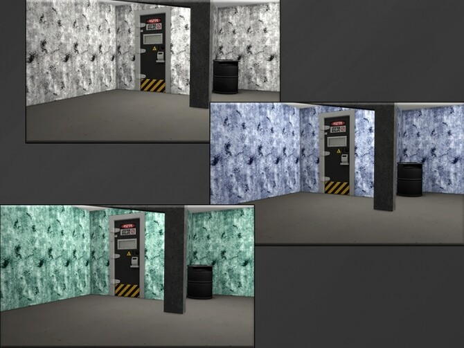 Sims 4 MB Stylish Stucco Concrete Obsession 3 by matomibotaki at TSR