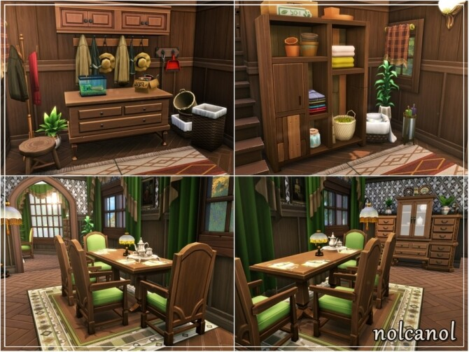 Sims 4 Tinker Maya home by nolcanol at TSR