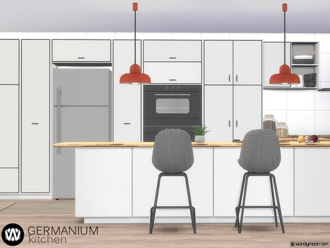 Germanium Kitchen Part II by wondymoon at TSR image 15211 670x503 Sims 4 Updates